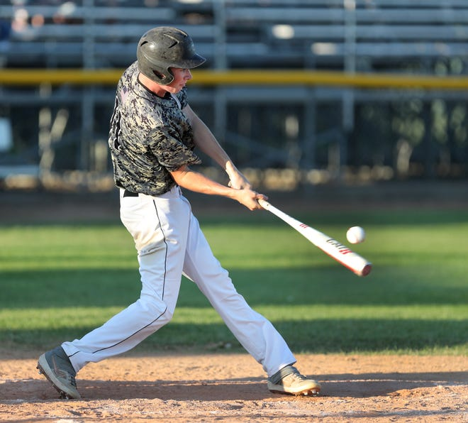 Aiden McCafferty tallied two runs for the Aberdeen Smittys in Wednesday's 23-11 loss at Harrisburg.