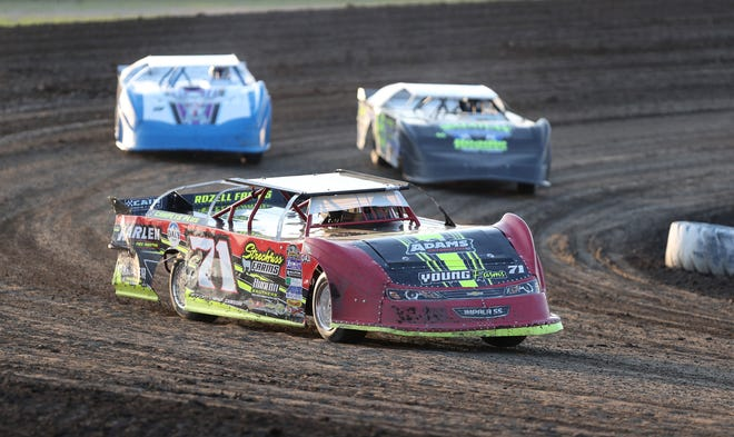 Nelson took the Super Stock race following his first place finish in the second heat at Friday's action at Brown County Speedway.