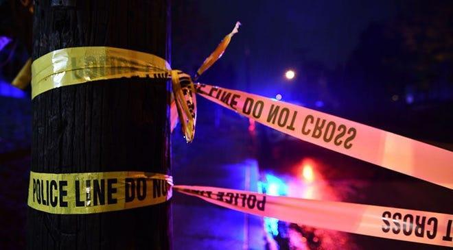 Police Tape Dark