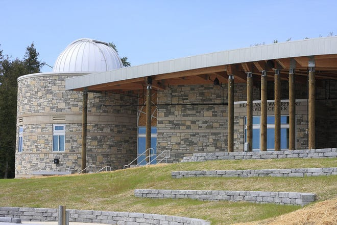 The Waterfront Event Center and Observatory at the Headlands International Dark Sky Park is shown. File photo