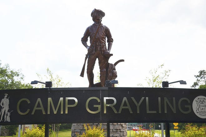 Activity will ramp up at Camp Grayling July 31 to Aug. 14 for the annual Northern Strike exercises. Gaylord Herald Times file photo