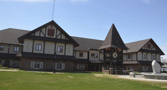 The Otsego County building is shown