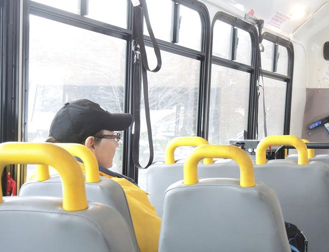 EMGO was Emmet County's short-lived bus program. A new transit plan is currently being developed by various community groups. File photo