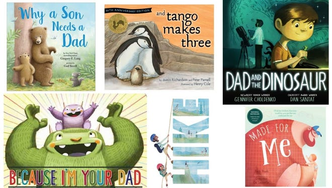 20 'Daddy & me' books to celebrate Father's Day