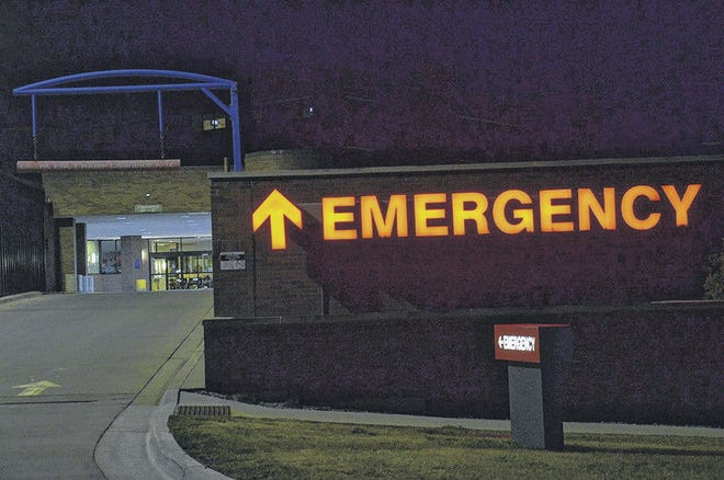 Steve Zucker/News-ReviewUnlike the big red letters leading the way to McLaren Northern Michigan hospital's emergency department, it isn't always easy to read when a health condition calls for a trip to the emergency room.