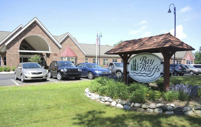 RYAN BENTLEY/NEWS-REVIEWEmmet County's Bay Bluffs long-term care center in Harbor Springs is shown.