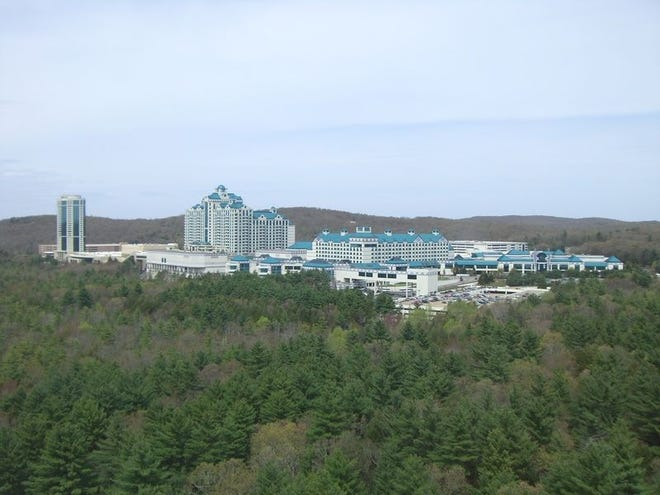 WIKIMEDIA COMMONS/ELFENBEINTURMThe Foxwoods Resort Casino is seen in 2009 in Ledyard, Conn.