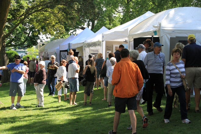 Petoskey's Pennsylvania Park will host over 100 vendors in the upcoming Art in the Park event on Saturday, July 17.