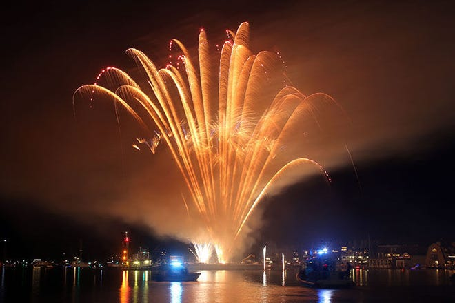 Charlevoix's Venetian Festival kicks off Saturday, July 17 with fireworks shooting over Round Lake on both Friday and Saturday, July 24-25.