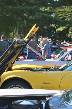 """Cars on display in a different local car show. Emmet County will be hosting its """"Goodbye Summer Car Show"""" at the Emmet County Fairgrounds this Sunday, Sept. 19."""