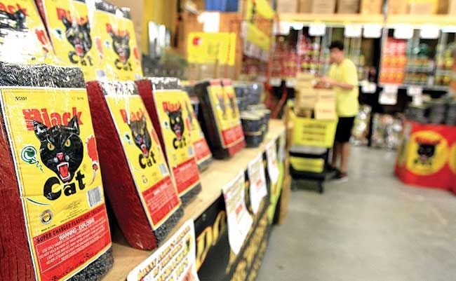 Sault residents are able to purchase fireworks at their local stores, but if used incorrectly, can cause annoyance amongst residents and neighbors.