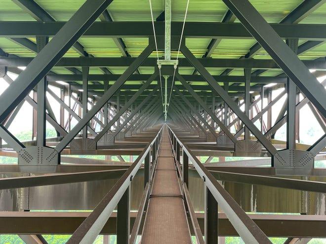 On the New River Gorge Bridge Walk