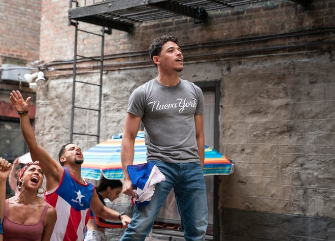 """Anthony Ramos appears in a scene from """"In the Heights."""""""