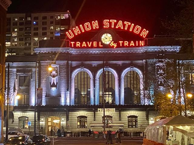 The Crawford Hotel in Denver's Union Station.