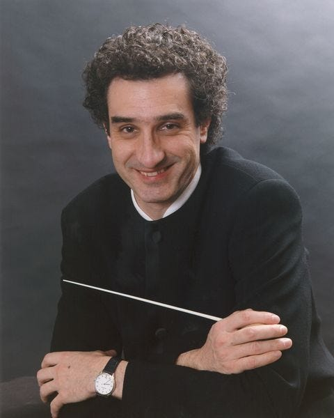 José-Luis Novo started conducting before he knew how to conduct