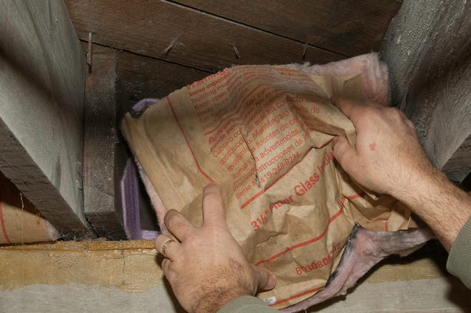 Sealing the joist pockets and installation bat insulation in the space reduces drafts and saves you on utilities.