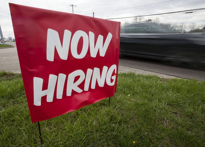 North Carolina's overall workforce fell by more than 16,200 people compared to April, or to just under 5 million, according to data provided by the state Department of Commerce.