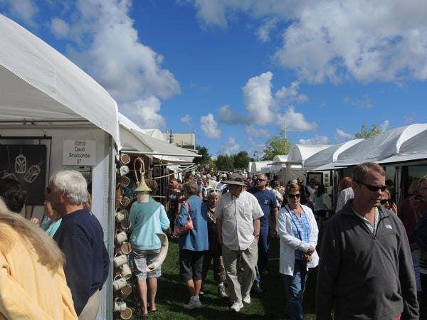 The Charlevoix Waterfront Art Fair, which attracts both artists and patrons from around the country, is set to return to Charlevoix's East Park this weekend on Saturday, Aug. 14.