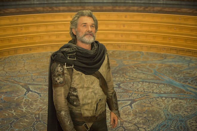 """Kurt Russell plays Ego in """"Guardians Of The Galaxy Vol. 2."""" AP Photo/Disney-Marvel"""