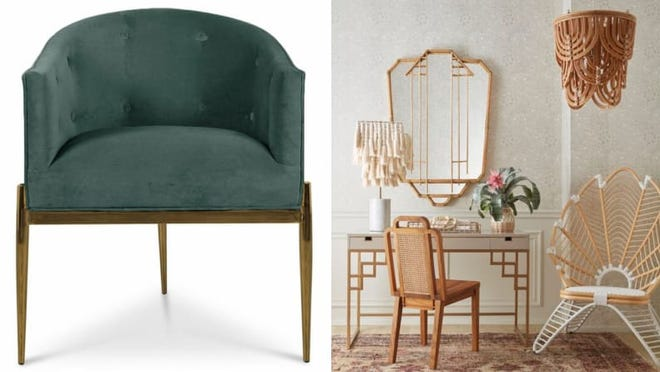 Add some flamboyance and elegance to your home with art deco items.
