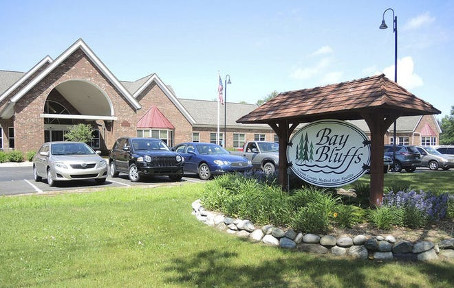FILE PHOTOEmmet County's Bay Bluffs medical care facility in Harbor Springs is shown.
