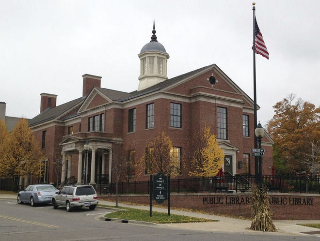 FILE PHOTOThe Petoskey District Library's main building is shown.