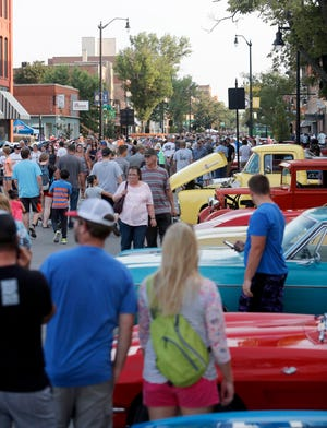 The annual Sizzlin' Summer Nights car and bike show will be Saturday evening in downtown Aberdeen.