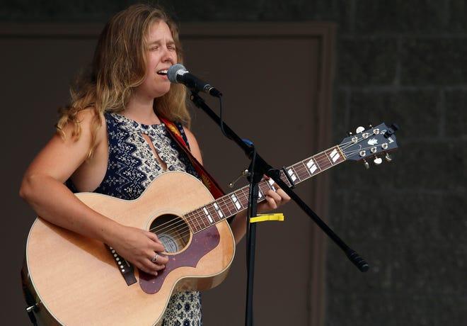 Petoskey local, musician and Blissfest Music Organization talent buyer Caroline Barlow.