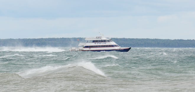 Frontline medical professionals and first responders will be able to enjoy a free trip to Mackinac Island throughout the month of October, courtesy of Star Line Mackinac Island Hydro-Jet Ferry.