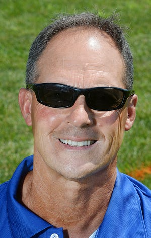 Boonsboro football coach Clayton Anders