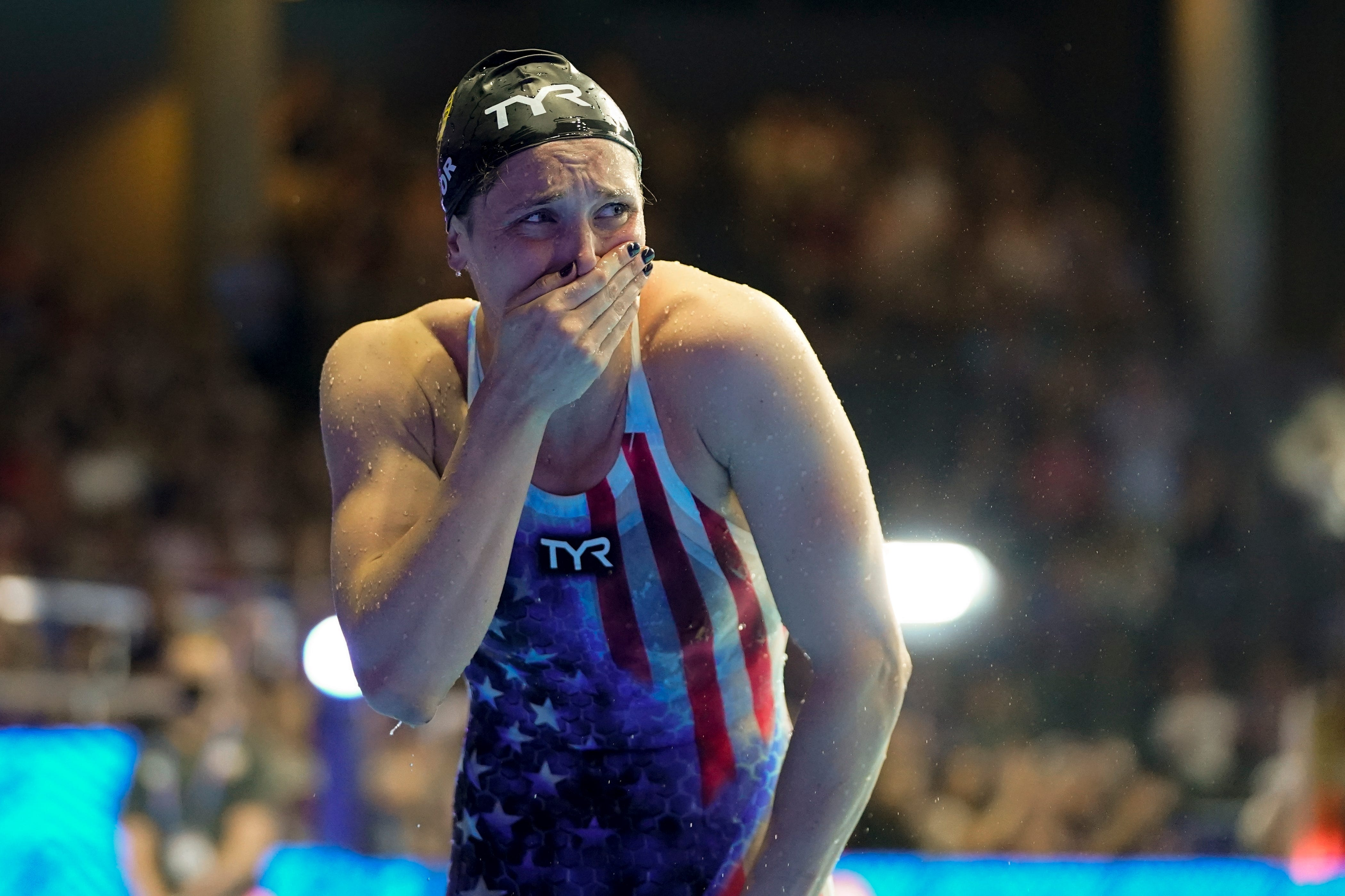 After making Olympic team, Annie Lazor talks about late father
