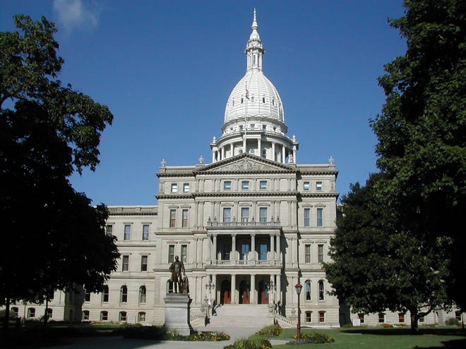 The Michigan State Capitol is seen in Lansing (Wikimedia Commons/Brian Charles Watson)
