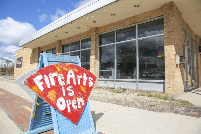 Fire Arts Inc. is located at 305 E. Colfax Ave. in South Bend.