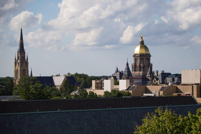 The campus of the University of Notre Dame. Tribune File Photo