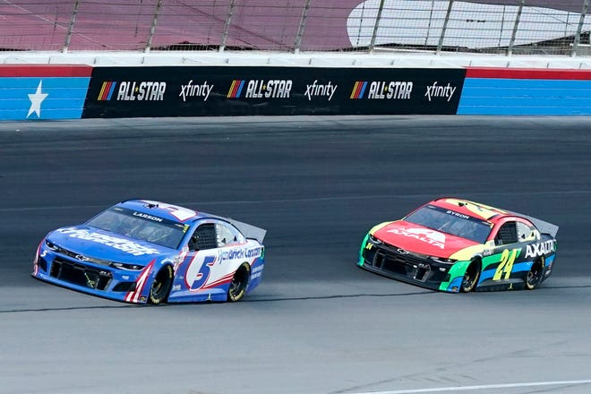 To nobody's surprise, it was once again the Hendrick Motorsports show Sunday at Texas.