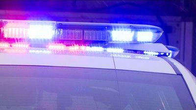 File art - police car lights