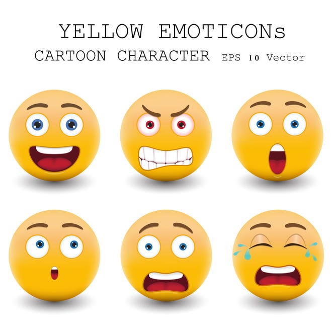 """""""Emoji will still first be displayed in their traditional yellow color. But should you desire another tone, you can simply press on a character to see the five others,"""" HuffPost reported. ©istockphoto.com/coolkengzz (courtesy)"""