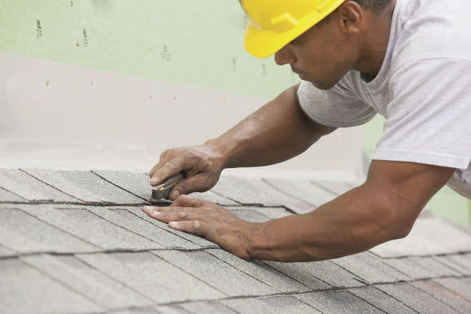 Roofing is a job that is best left for professionals to handle.