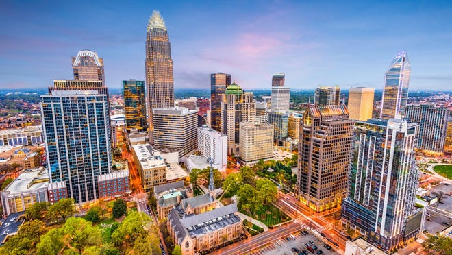 96. Charlotte, North Carolina     • Founded:  1768     • Population:  885,708 Colonists from England named the town after King George III's wife, Charlotte, who was born in what is now Germany.     ALSO READ: Oldest Historic Town in Every State