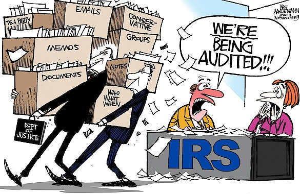 Cartoon: IRS audit