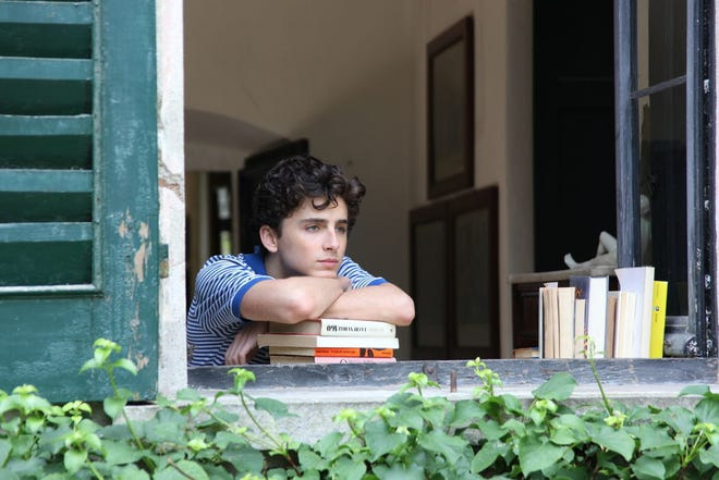 """This image released by Sony Pictures Classics shows Timothee Chalamet in a scene from """"Call Me By Your Name."""" The actor is teaming up again with the film's director, Luca Guadagnino, for the upcoming movie, """"Bones and All."""""""