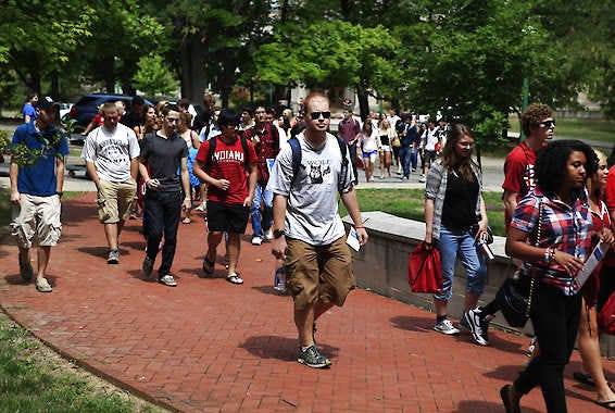 IU Bloomington's incoming freshmen class will be nearly 9,400, after receiving more than 46,000 applications.