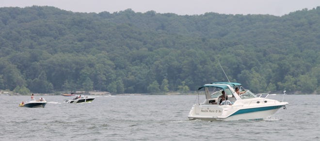 Boaters are seen enjoying Lake Monroe in this 2015 photo.