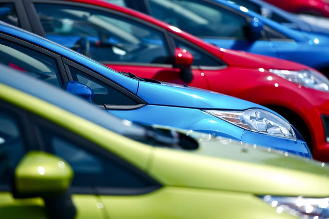 Colorful Cars Stock. Small European Vehicles in Stock. Many Colors to Choose From. Dealership Cars Stock. Transportation Photo Collection ©istockphoto.com/welcomia (courtesy)