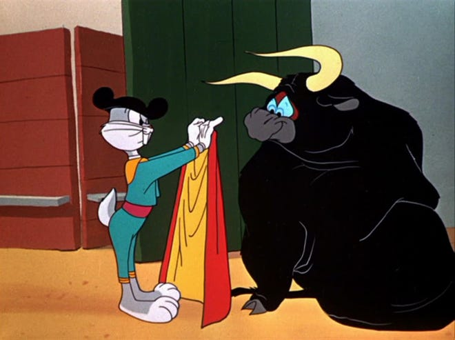"""Bugs Bunny made his official debut in a cartoon called """"A Wild Hare"""" on July 27, 1940."""