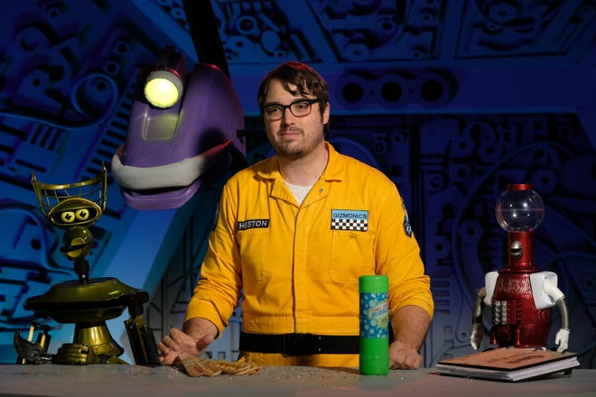 """""""Mystery Science Theater 3000"""" starring Jonah Ray is on Netflix. Photo by Darren Michaels, SMPSP (courtesy)"""
