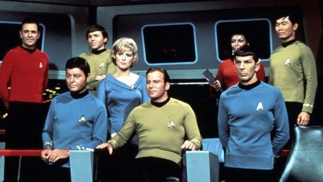 "The original ""Star Trek"" cast in 1966. Lionsgate (courtesy)"