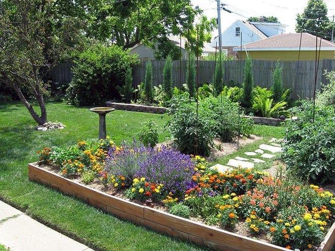 Raised beds simplify gardening in many ways. Courtesy www.homeepiphany.com