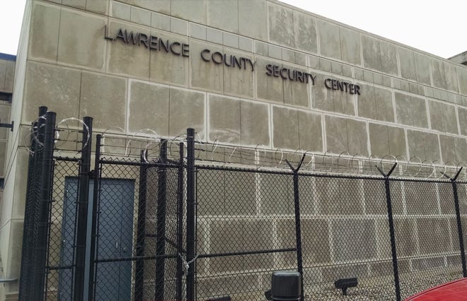 Lawrence County jail exterior