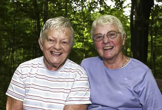 Marynor Jordan and Nancy Ralston